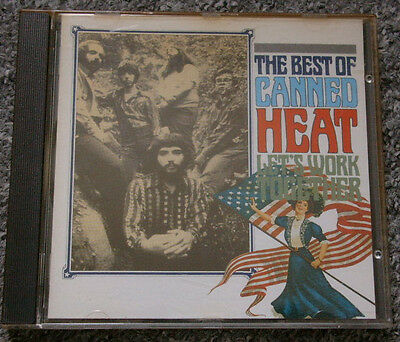 CD  Canned Heat - Let's Work Together (The Best Of)