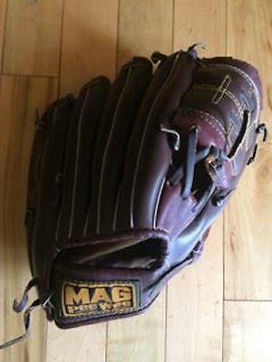"""10"""" Flex Action Youth BaseBall Glove Brown Mag Pee Wee Left Handed"""