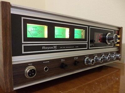 Royce 1-624 AM CB Base Radio Station. Vintage in Great Condition!