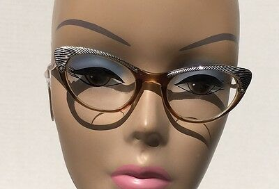Vintage Cat Eye Glasses Signed Vogue