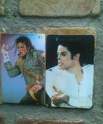 Schede telefoniche michael jackson  telephone cards