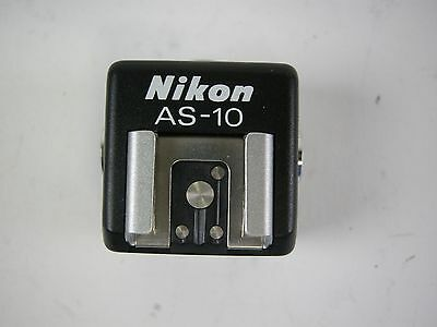 Nikon Genuine AS-10 AS10 TTL Multi Flash Adapter