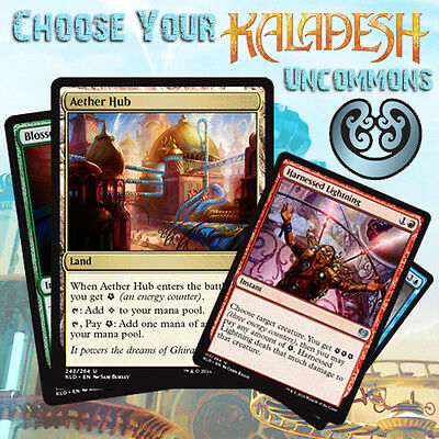 Choose Your Kaladesh Uncommon Cards - MTG M/NM KLD