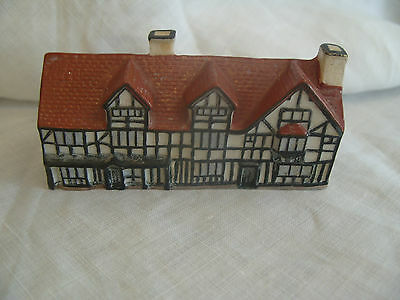 W H Goss China Model of Shakespeare's House - Perfect
