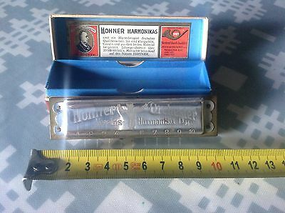 Vintage Hohner Orchester 1 Harmonica Boxed