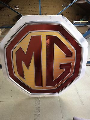Mg Dealer Sign And Rover Sign