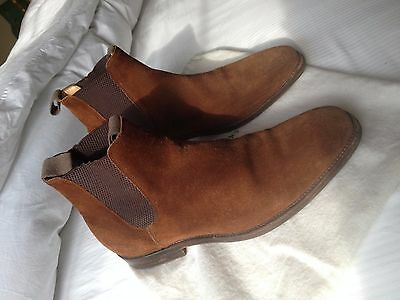 Russell and Bromley mens Chelsea boots (size UK 10.5)