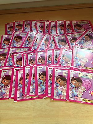 40 Sealed Packets Of Rare Panini Disney's DOC McSTUFFINS - European Editions!