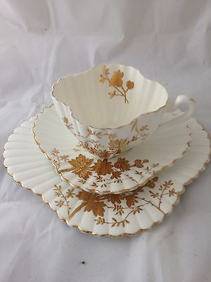 Wileman pre Shelley trio of cup, saucer and tea plate
