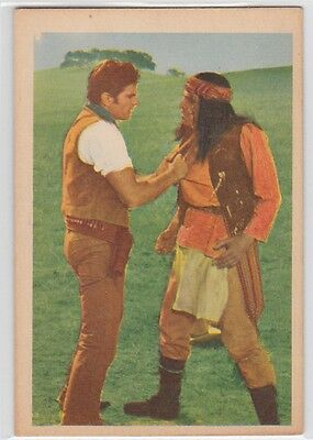 Texas John Slaughter- Trading Cards-#49 -Capturing Of Geronimo