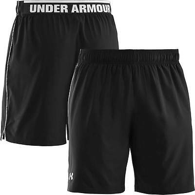 "Under Armour Heatgear Mirage 8"" Training/Sports Shorts  BLACK  New."