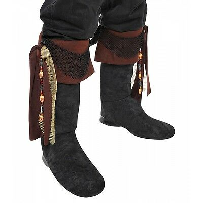 Pirate Boot Toppers Costume Accessory Adult Halloween