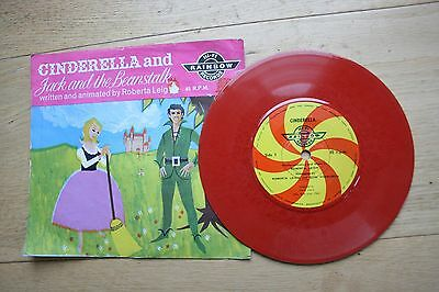Cinderella and Jack and the Beanstalk. 1962. 45rpm Record. Songs and story.