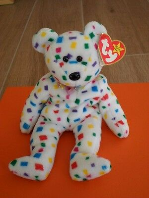 TY Beanie Baby - Ty 2K. RARE Origional. Date Errors. Highly Collectible.
