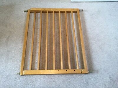 Mamas & Papas Wooden Extendable No Trip Safety Stair Gate