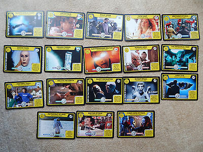 Dr Who Monster Invasion Trading Cards (Adventure Cards)
