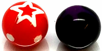 UV Acrylic - Choose Color - Spare Replacement Screw Ball Balls UK