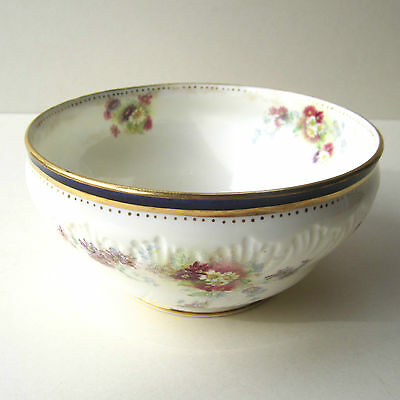 Vintage GEORGE JONES & Sons Suger Bowl Crescent China Large D14.5cm H 7cm 1920s