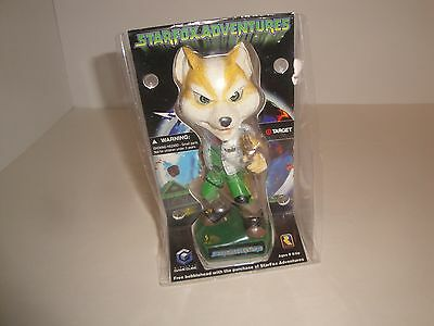 Gamecube Star Fox Adventures Bobblehead Target Limited BRAND NEW **NICE!!**
