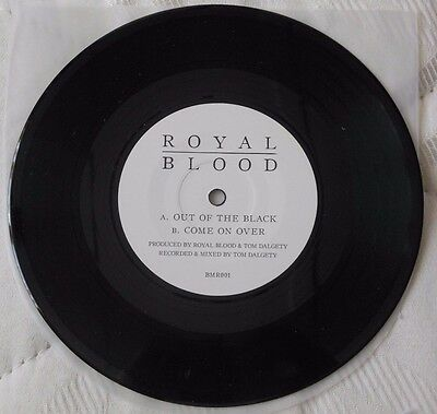 "Royal Blood - Out Of The Black 7"" ULTRA RARE Sold Out Unplayed Single QOTSA Muse"