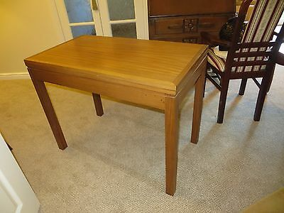"""Card Table 3ft x 1ft 8"""" x 2ft 4"""" high, Vintage Item."""