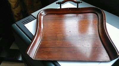 Edwardian Wooden Crumb Tray