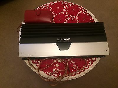 Alpine MRD-M1000 subwoofer amplifier sub amp