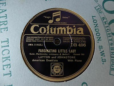 10 x COLUMBIA label 78s. Early 1930's All pictured. Ex - to EX  (1)