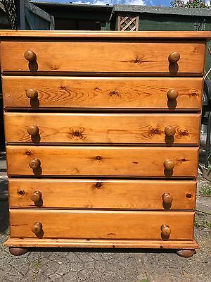 Vintage Solid Wood 3 Drawer chest of drawers