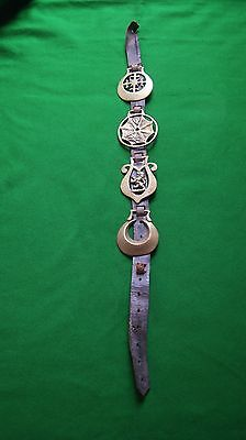 Old Martingale With Four Brasses