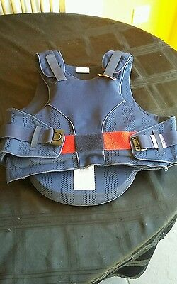 Child's horse riding equipment. Body protector. Reiver Elite. Child's large.