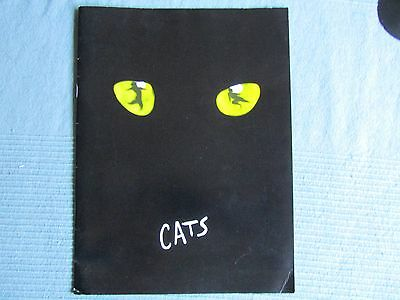 CATS souvenir program from ninth anniversary
