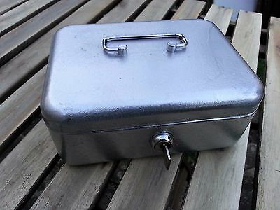 Metal Cash Box with key