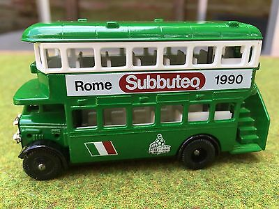 Subbuteo Lledo Vintage Advertising World Cup 1990 Bus.YES HARD TO FIND VERY RARE