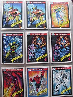 Marvel Series I(1) & II(2) Trading Card Singles ~ U PICK 4 – Impel 1990/91 Comic