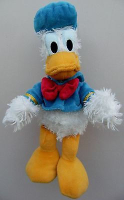 "Genuine Original Disney 14"" DONALD DUCK Soft Plush Toy"