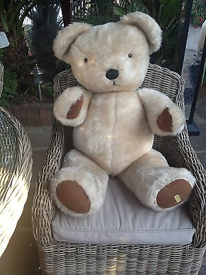 """Vintage 1960s  38""""inch  Merrythought Large Teddy"""