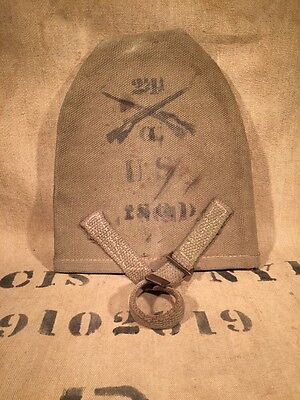 Pre WWI Era T-handle Shovel Cover With Infantry Markings, US Army