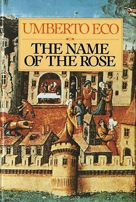 The Name of the Rose by  Umberto Eco FREE SHIPPING a hardcover book