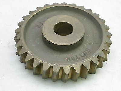 "Boston Bronze Worm Gear GB-1091 29 Teeth ~6-3/8"" OD 1-1/4"" Bore 2"" Bore Length"