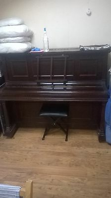 Upright piano, Rogers of London, old piano.