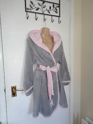 La Senza grey and pink dressing gown size S/M !!!