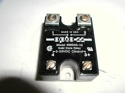 Opto 22 Solid State Relay Model 480D10-12