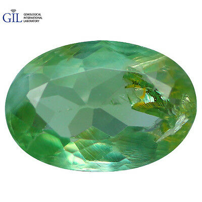 0.48 CT Incredible! GIL CERTIFD Natural COLOR Change Green To Red Alexandrite