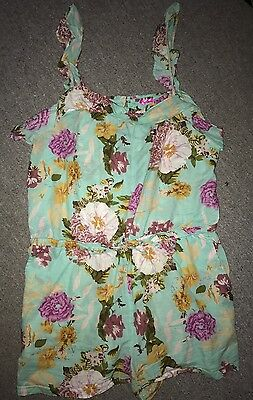*ladies River Island Playsuit Beach Holiday Cover Up Size Xl*