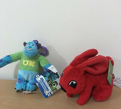 Monsters University And Duplo Bunny Small Soft Toys