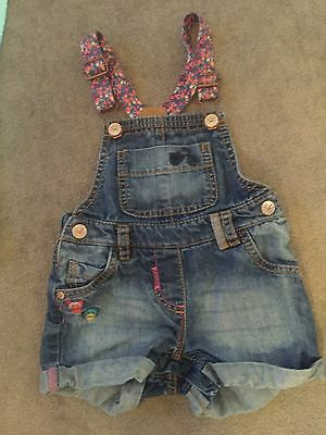 Girls Dungarees Age 12/18 Months Next