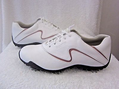 """Ladies """" Footjoy Lopro Collection """" Waterproof Soft Leather Golf Shoes - Size 4"""