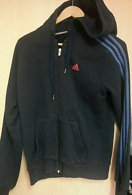 Mens Adidas Tracksuit Top/hoodie Size S