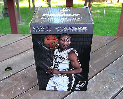 Rare Kawhi Leonard San Antonio Spurs 2014 Limited Edition Bobblehead Bobble Head